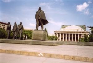 Новосибирский государственный академический театр оперы и балета на площади имени В.И. Ленина, 1980 г.